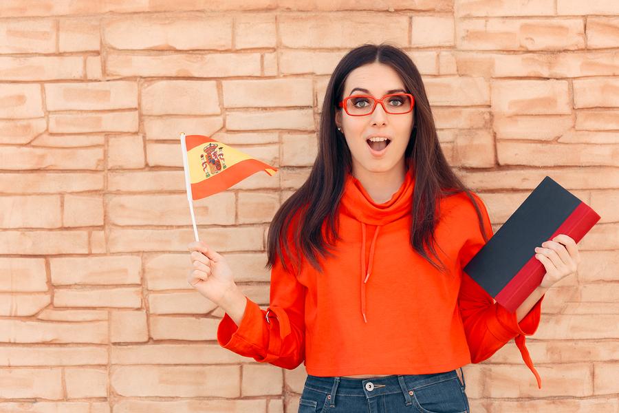 Spanish female student