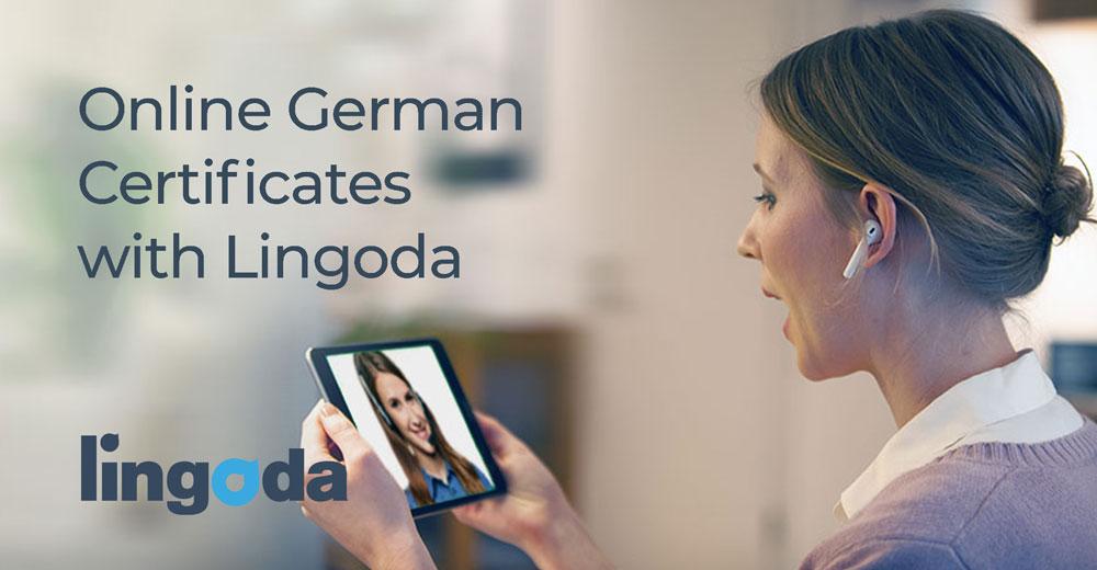 German Certificates Lingoda Online Language School Lingoda